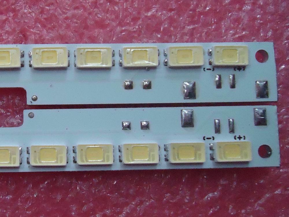 لسامسونج UA55D6600WJ المادة مصباح 2011SVS55-FHD-5K6K-RIGHT 2011SVS55-6.5K-V2-1CH-PV-RIGHT100 1 قطعة = 100LED 680 مللي متر