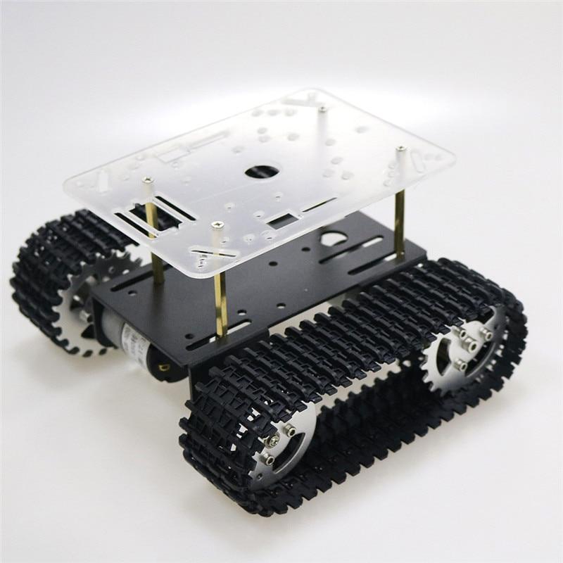 Умный корпус для робота-танка, гусенич