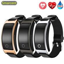 CK11C CH11S fréquence cardiaque montre intelligente avec podomètre de pression artérielle Fitness Tracker Bracelet Smartwatch pour iphone téléphone Android