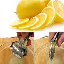 Cuisine Bar Orange Lime Squeezer Juicer Hand Press Outil Citron Wedge Outil de Fruits Presse-Citron En Acier Inoxydable Clip