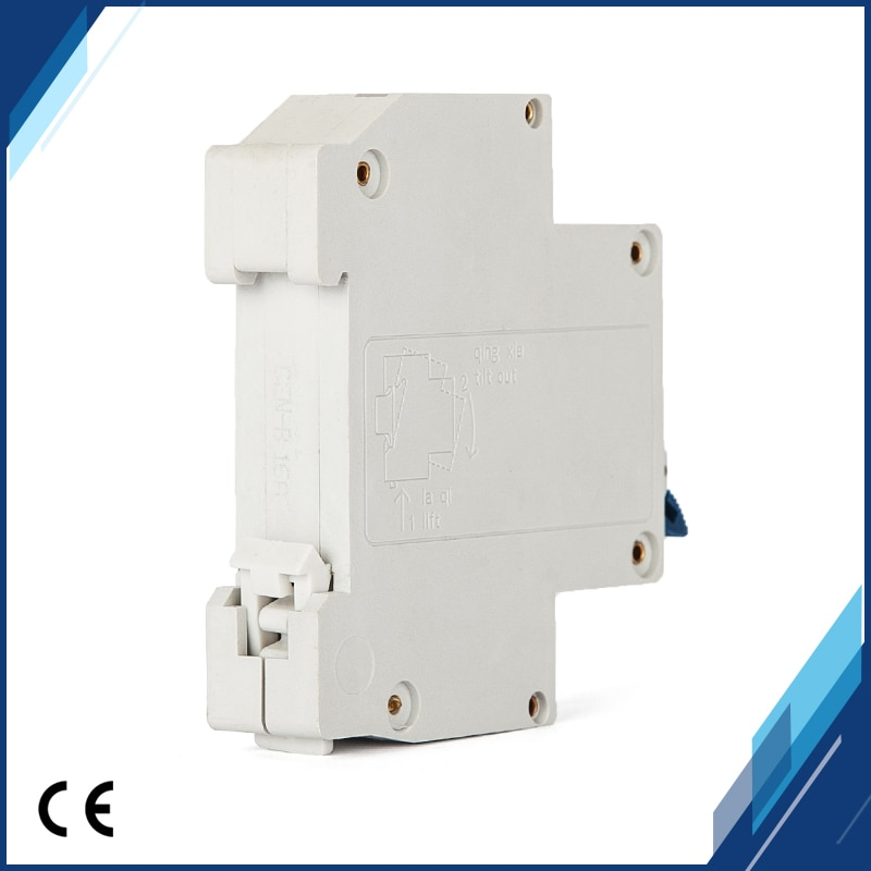 Disyuntor de protección residencial de 2 piezas/grupo 32 A DPN 1 P + N32A 230 V ~ 50 HZ/ rotura de 60 HZ con protección de cortocircuito de sobrecarga