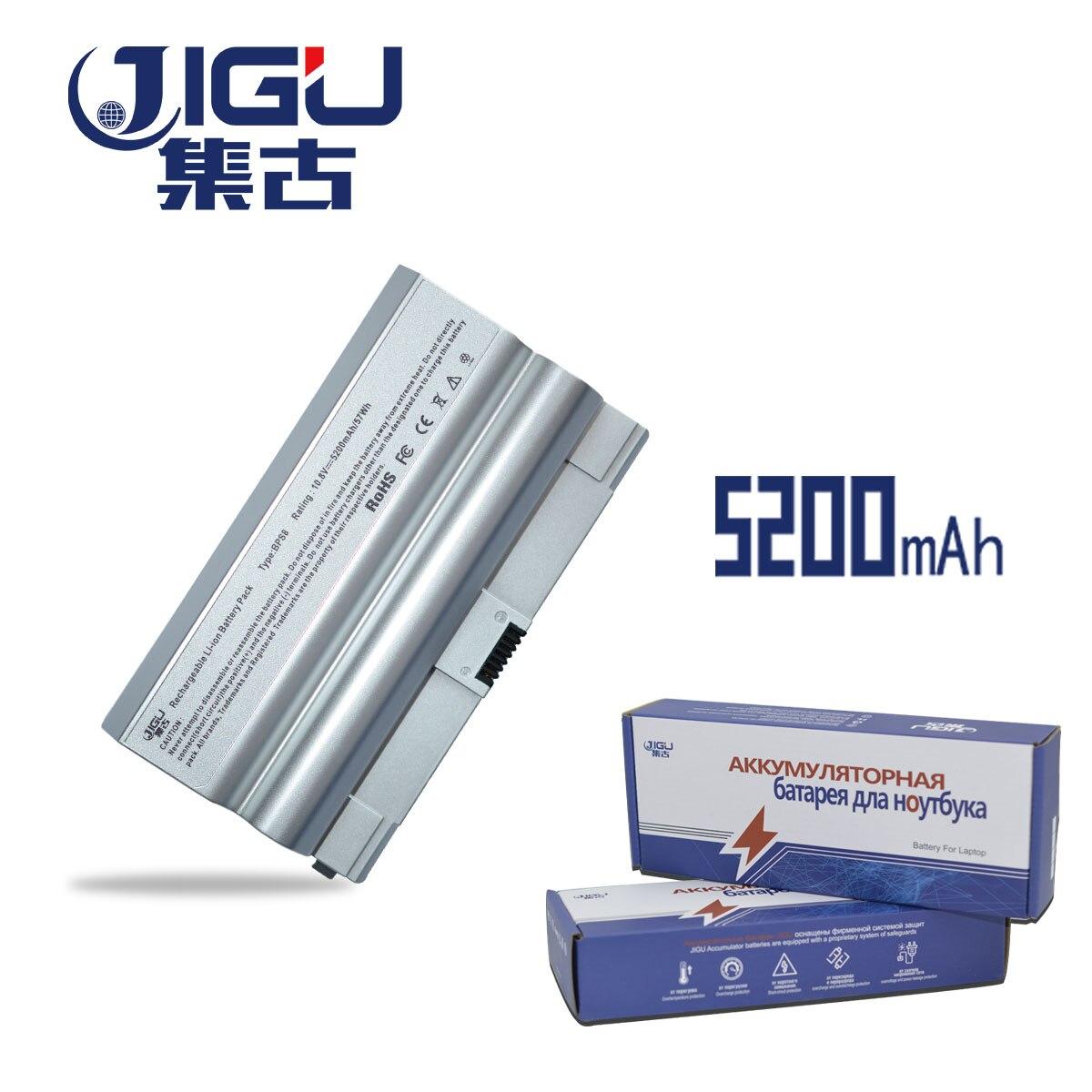 JIGU بطارية كمبيوتر محمول VGP-BPL8 VGP-BPL8A VGP-BPS8 VGP-BPS8A VGP-BPS8B لسوني PCG-39A VGC-LB15 VGN-FZ11E VGN-FZ130E