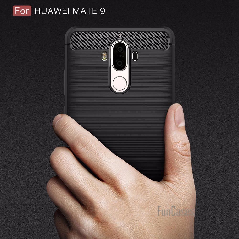Funda de silicona de lujo para Huawei Mate 9 funda para fundas Huawei Mate 9 funda de 5,9 pulgadas hawei huawey huawai capinhas de capa