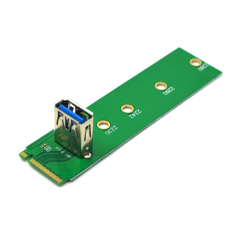 M.2 PCI-E USB 3,0 NGFF M.2 NVMe к USB 3,0 PCIE 1X 16X адаптер Mining Card удлинитель конвертер для видеокарты