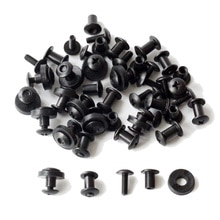 24 pièces Tek lok jeu de vis Chicago vis livré avec rondelle pour bricolage Kydex gaine outil à main pièces