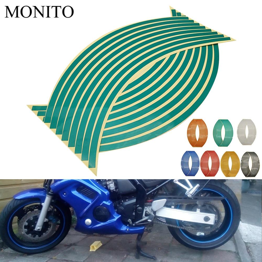 Наклейка на колесо мотоцикла Светоотражающая наклейка на обод лента для YAMAHA tdm 900 850 mt125 mt03 mt01 mt 125 03 01 xt660 аксессуары