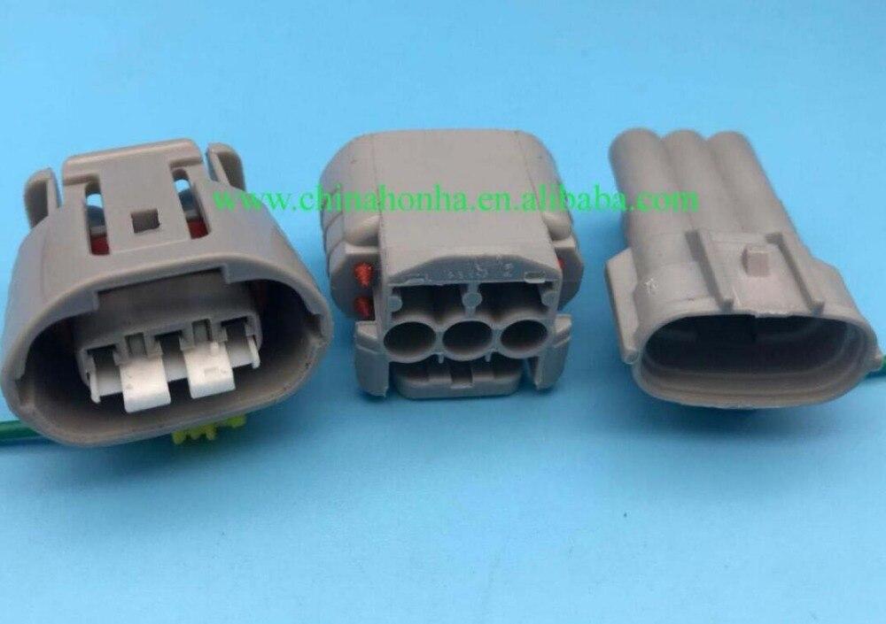 Conector de alternador TS de 3 vías, Conector automotriz sellada macho hembra 6188-0282 6189-0443 para Sumitomo