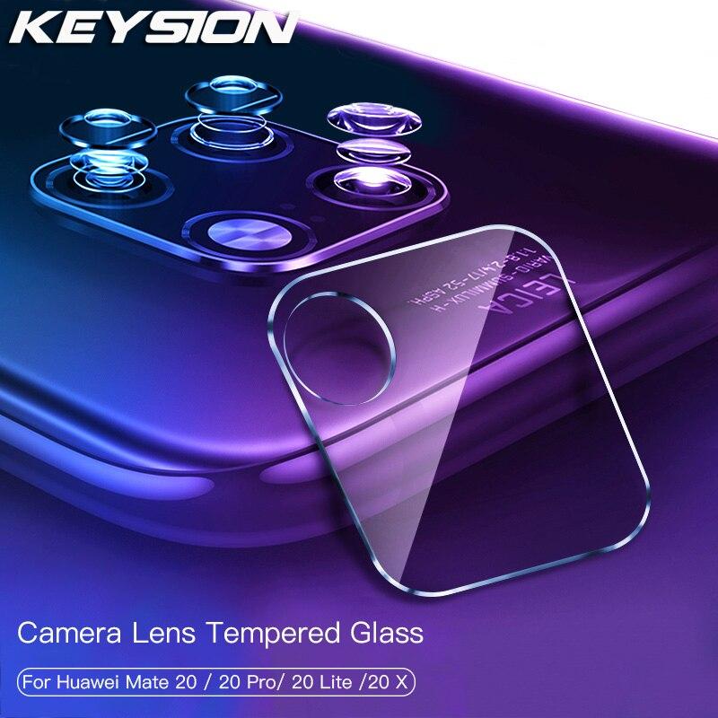 Lente de cámara trasera KEYSION cristal templado para Huawei Mate 20 Pro Lite Mate 10 Pro película protectora de vidrio para Huawei P30 Pro P20 Lite