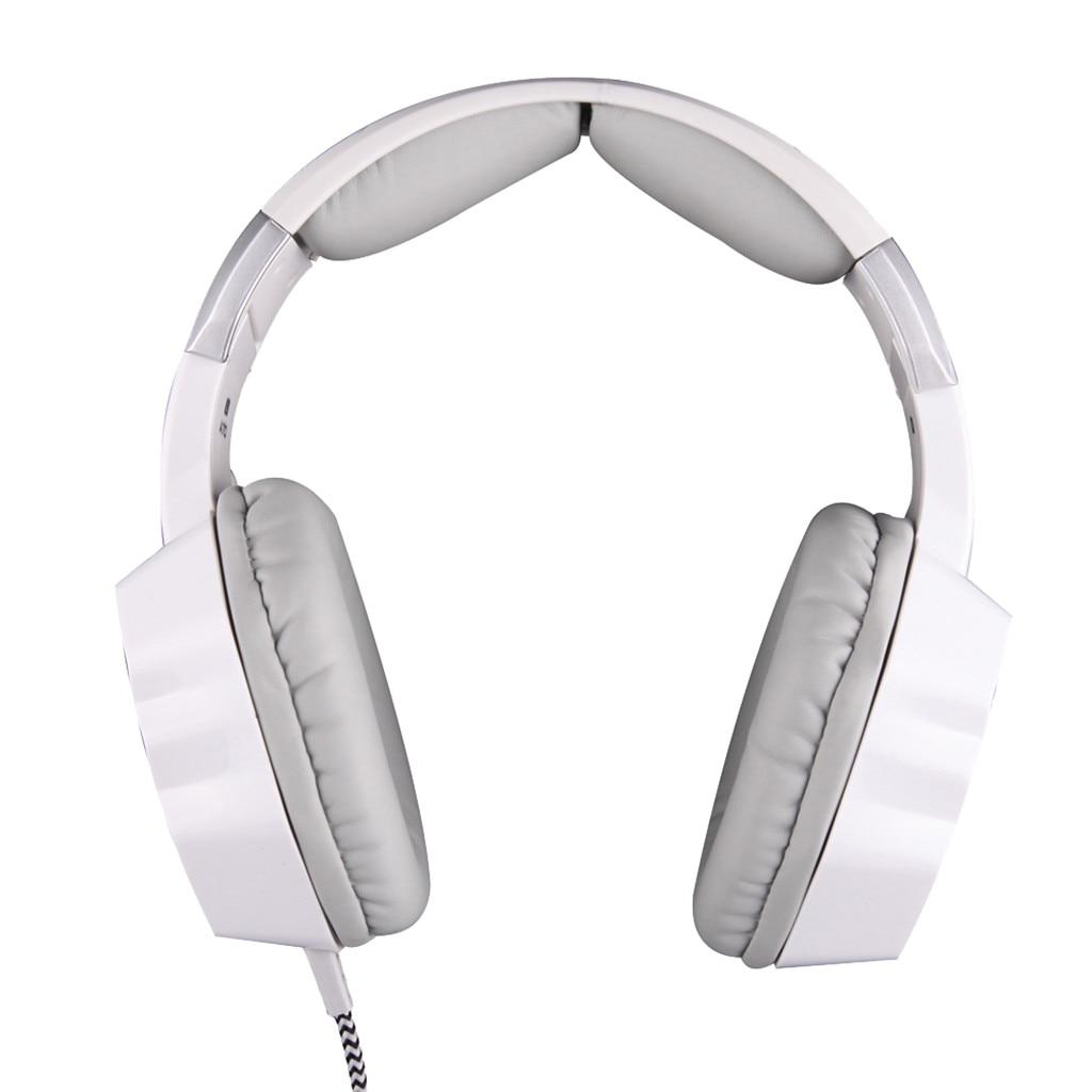 Lámpara de respiración VOBERRY A70, auriculares con cable para juegos de ordenador, auriculares profesionales para jugadores con micrófono HD para ordenador