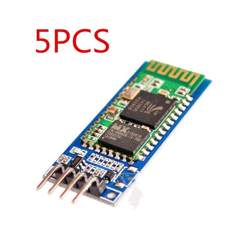 5pcs/lot HC-06 Bluetooth for arduino serial pass-through module wireless serial communication HC06 Bluetooth Module