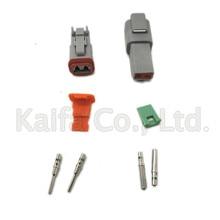 14 GA, 10 set Kit Deutsch DT 2 3 4 6 8 12 Spille Impermeabile Cavo Elettrico Connettore spina Kit Motore/ cambio elettrico impermeabile
