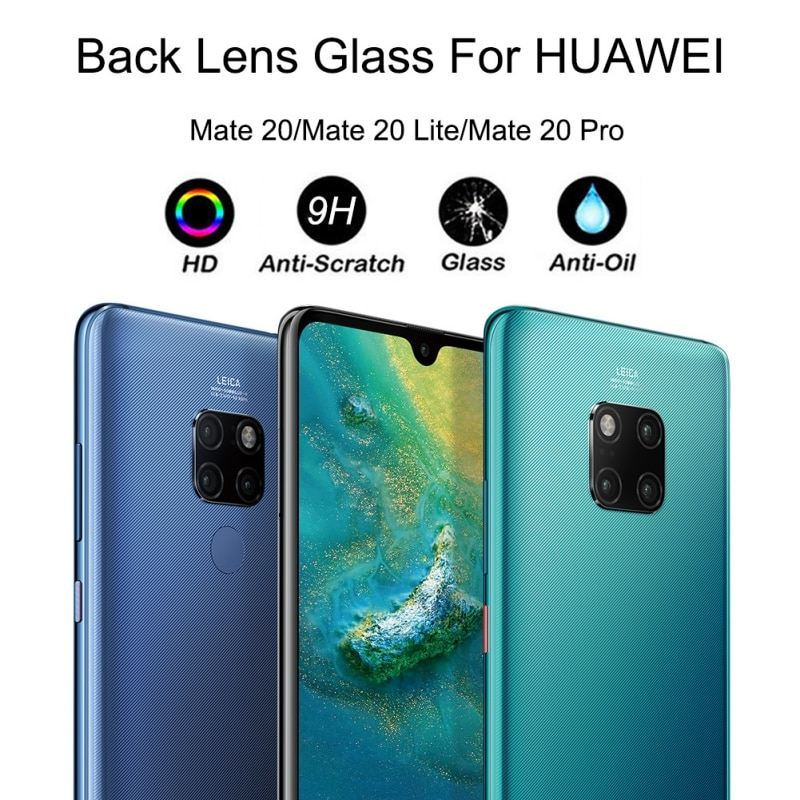 Ultra-thin Smart Phone Back Camera Lens Protector Tempered Glass For Mate 20 / Mate 20 Pro / Mate 20