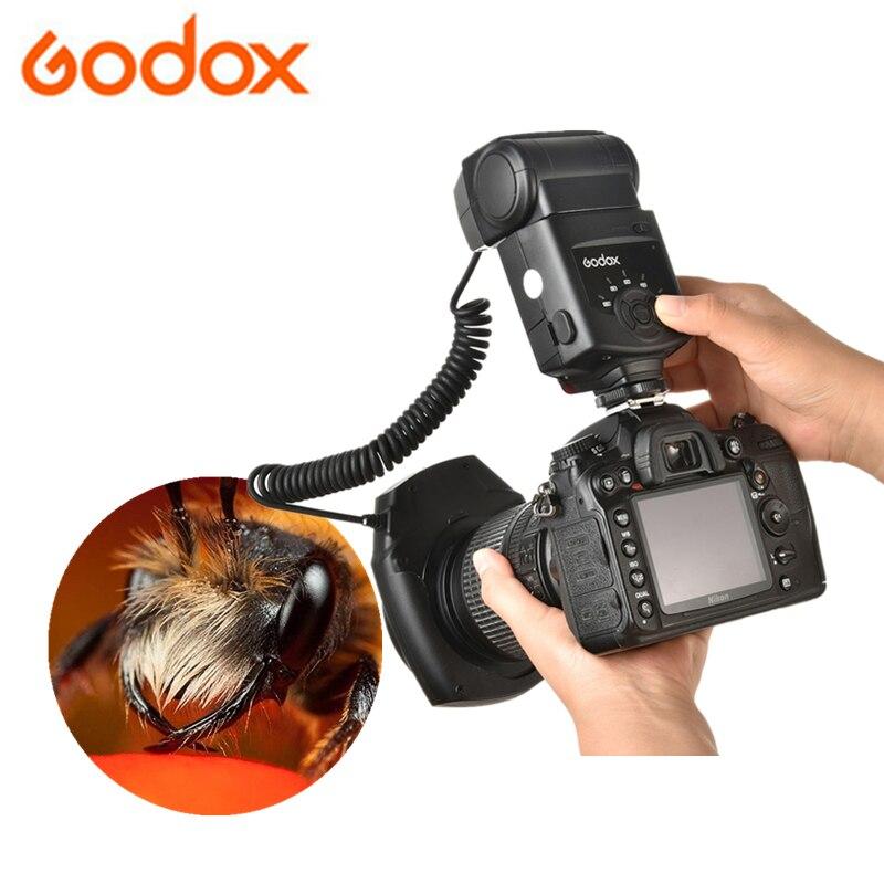 Godox ML-150 GN10 49 52 55 58 62 67 mm Objektiv Adapter Ringe Macro Ring Flash Speedlite für Canon Nikon pentax Olympus DSLR kameras