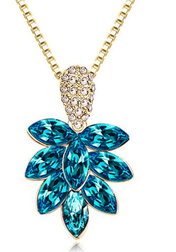 Áustria colar de cristal desejo árvore cristal moda jóias presente amor acessórios amante dropshipping nova chegada festa menina