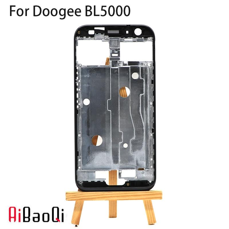 Nuevo marco frontal Original de alta calidad para carcasa frontal de repuesto Doogee BL5000 de 5,5 pulgadas + adhesivo 3M