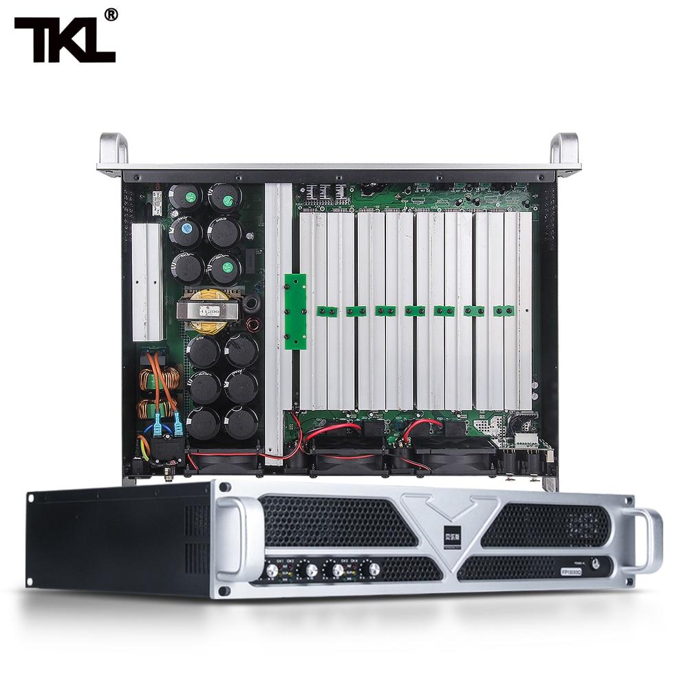 TKL-مضخم طاقة PS1500 DJ ، مضخم صوت رقمي ، Hifi ، صوت ستيريو منزلي ، قوة صوت 1500 واط ، مرحلة Hifi