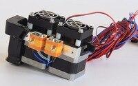 Funssor 1.75mm Fully Assembled Dual Extruder for Flashforge Creator/Dreamer 3D Printer