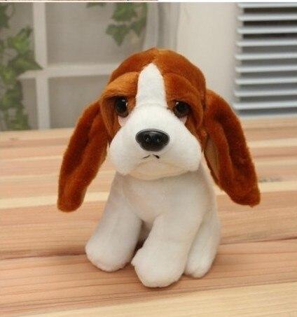 stuffed simulation animal 18cm Great dane dog plush toy simulation dog doll d8050