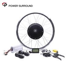 Expédition rapide et gratuite 48v 1500w arrière moteur Bicicleta vélo électrique Ebike Kits de Conversion pour roue de moyeu