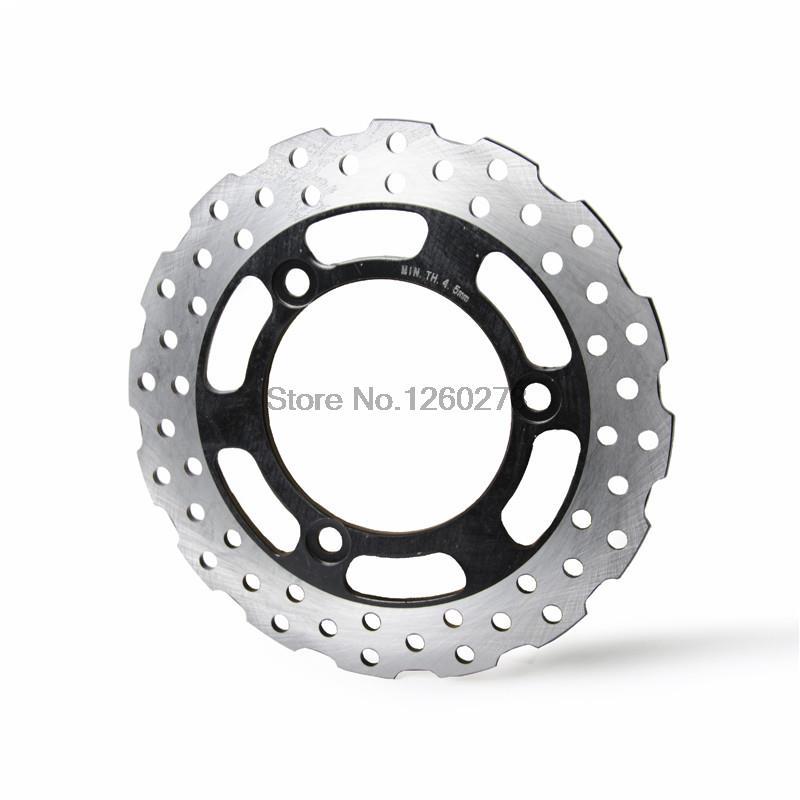 Perforado Rotor de disco de freno trasero para Kawasaki Ninja 250R ABS 2008, 2009, 2010, 2011, 2012 moto Rotor de disco de freno trasero