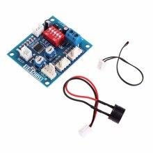 12V CPU вентилятор контроль температуры контроллер скорости ШИМ модуль датчик будильника