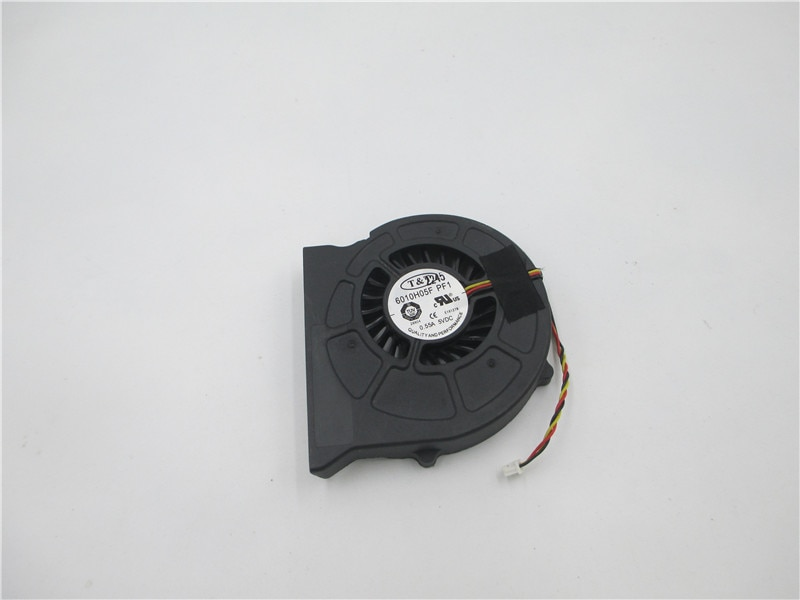 2pcs Original Laptop CPU Cooler Fan For MSI CR420 CR420MX CR600 EX620 CX420 CX500 CX600 CX620 CX620MX T&T 6010H05F PF1 0.55A FAN