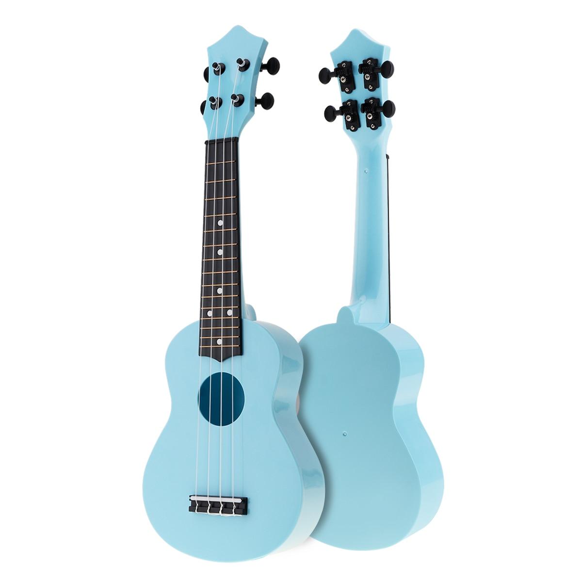 21 Inch Colorful Acoustic Uke Ukulele 4 Strings Hawaii Guitar Guitarra Instrument for Kids and Music Beginner enlarge