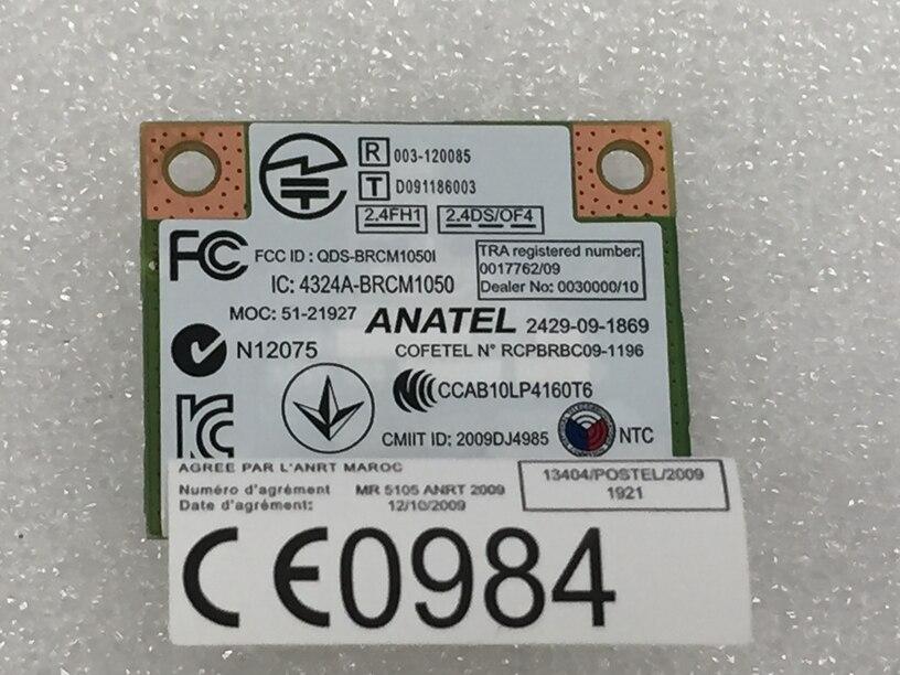 Ssea卸売新しい用broadcom BCM94313ハーフミニpci-e 802.11b/g/nワイヤレスカード用レノボz380 z580 z485 z585 g480