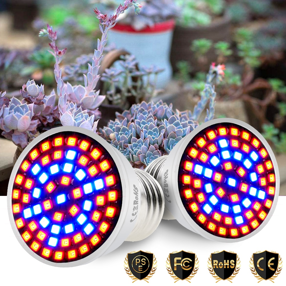 E27 Grow Led Light E14 Plant Lamp GU10 220V Full Spectrum Led Fitolamp MR16 3W 5W 7W Phyto Lamp for Tent Hydroponics System B22