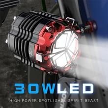 Esprit bête antibrouillard moto led projecteur pour led harley sportster touring softail dyna sportster honda ombre yamaha BMW