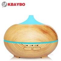 Humidificateur ultrasonique a brume fraiche de 150ml  diffuseur daromes et dhuiles essentielles en bois  lumieres LED pour le bureau et la maison