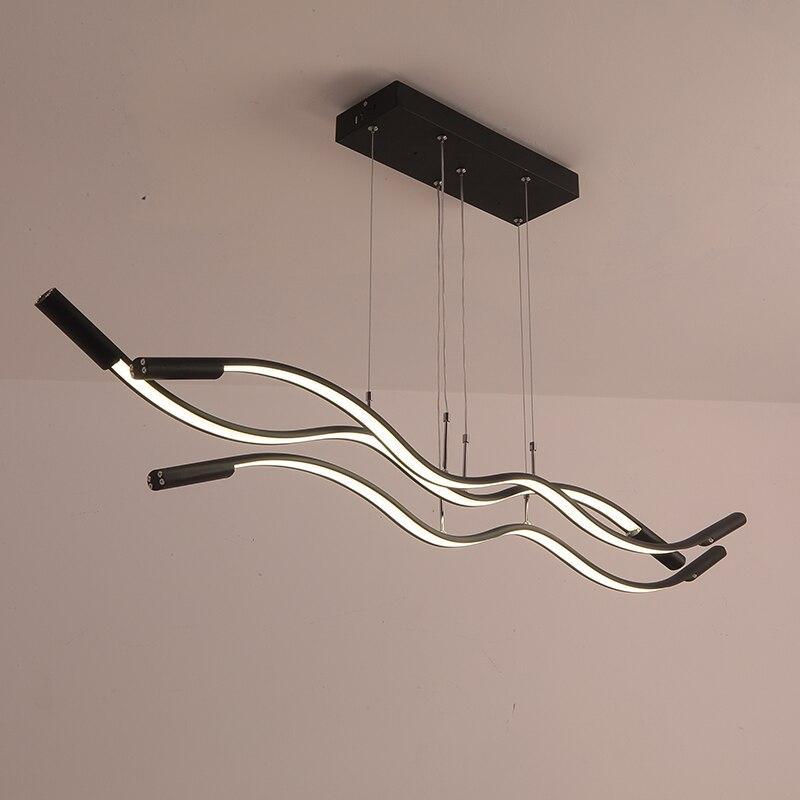 Luces colgantes led modernas para comedor, cocina, lámpara colgante de cerámica, lámpara colgante led para oficina, cafetería