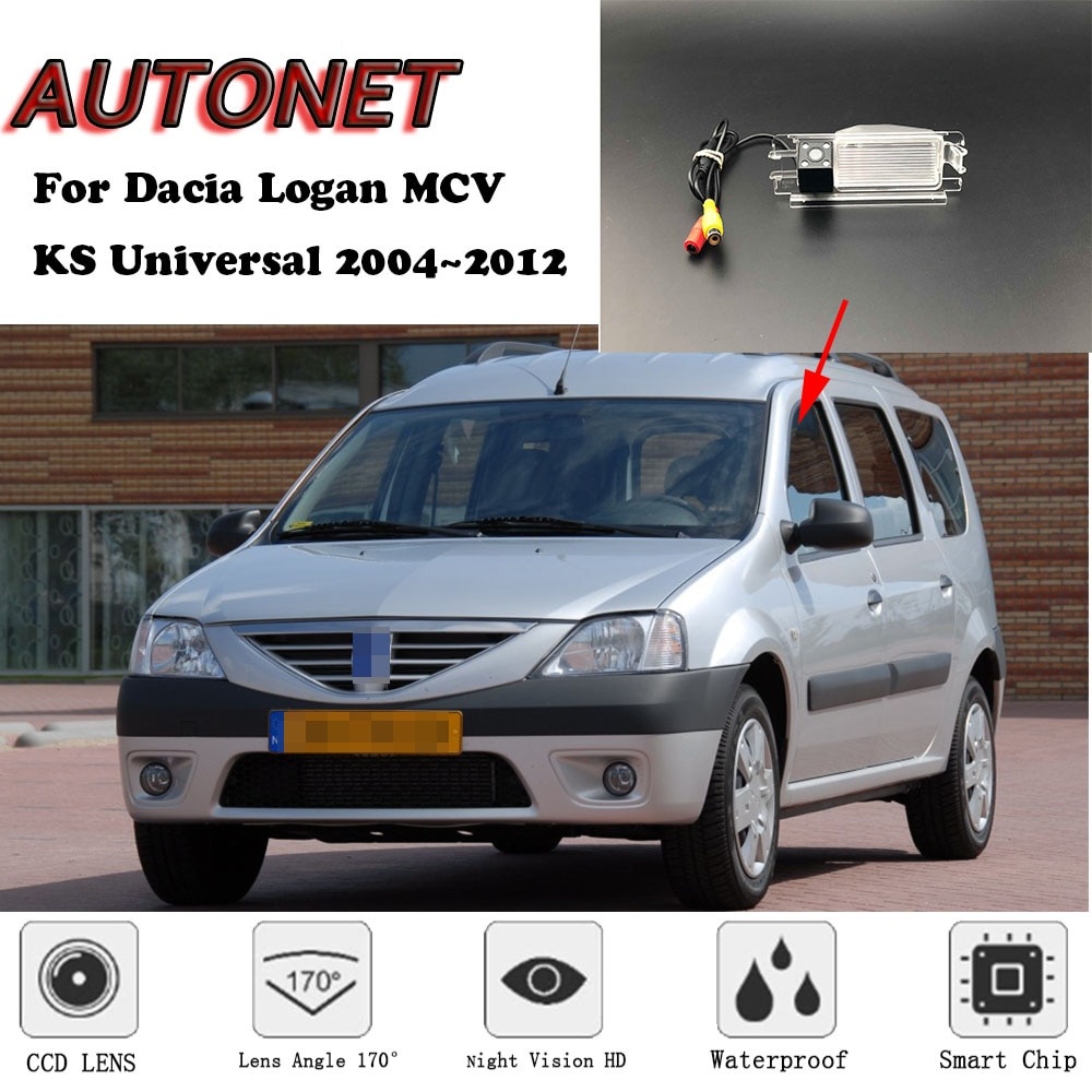 Cámara de visión trasera de respaldo AUTONET para Dacia Logan MCV KS Universal 2004 ~ 2012/cámara de estacionamiento o soporte