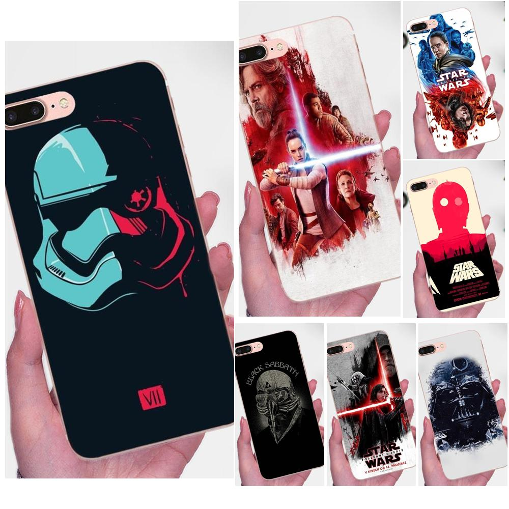Star Wars O Último Jedi Para Galaxy J1 J2 J3 J330 J4 J5 J6 J7 J730 J8 2015 2016 2017 2018 mini Pro Tampa Do Telefone TPU Caso Capa