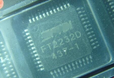 100% جديد شحن مجاني 10 قطعة FT2232D FT2232 LQFP-48 وحدة جديد في الأسهم شحن مجاني