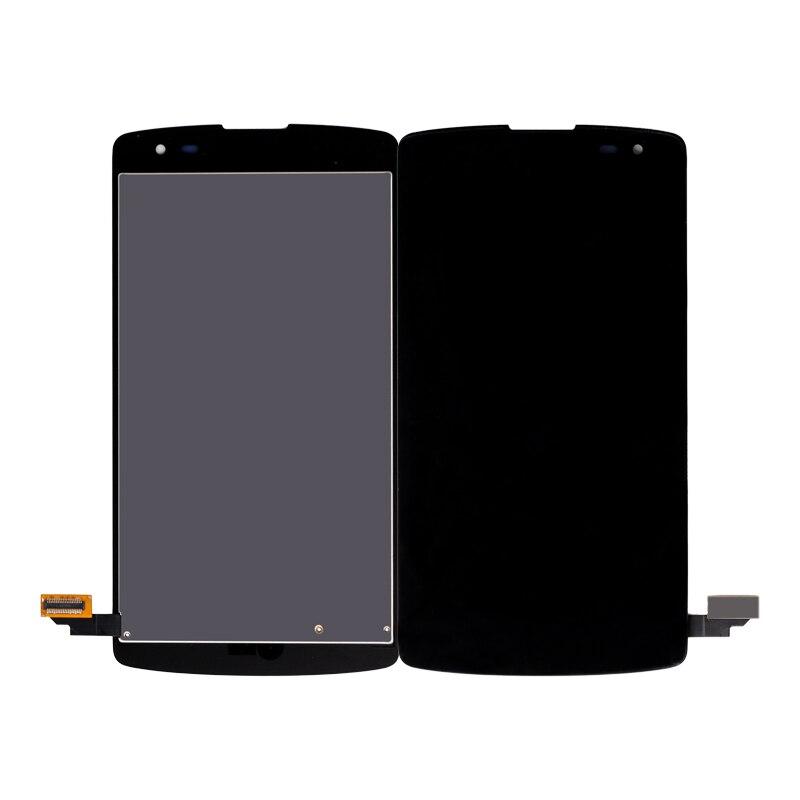 10 unids/lote para LG F60 pantalla LCD para LG Optimus F60 D392 L Fino D290 D290N D295 pantalla LCD Digitalizador de pantalla táctil envío gratis