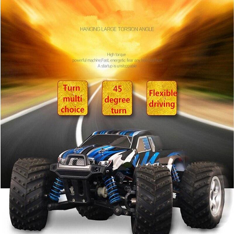 Nuevo 40-50 KMH eléctrico de alta velocidad de control remoto coche de juguete rc 2,4G 118 4WD drive todoterreno RC camión tamaño medio 24cm