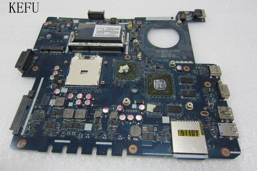 Para ASUS K53TA K53TK X53T K53T placa base de computadora portátil LA-7552P DDR3 gráficos discretos 100% prueba