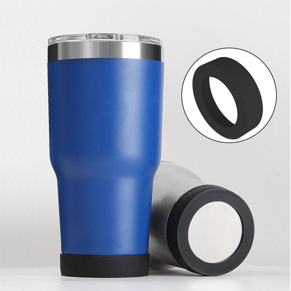 Taza de agua de 70mm manga de silicona copa de vacío funda especial anillo inferior resistente al desgaste cubierta Montaña Rusa