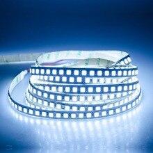 5 M 5054 LED Luce di Striscia 120 LEDs/m DC 12 V 600 LEDs diodo LED Light Tape IP65 IP68 Impermeabile Tastiera TV Sfondo Decor