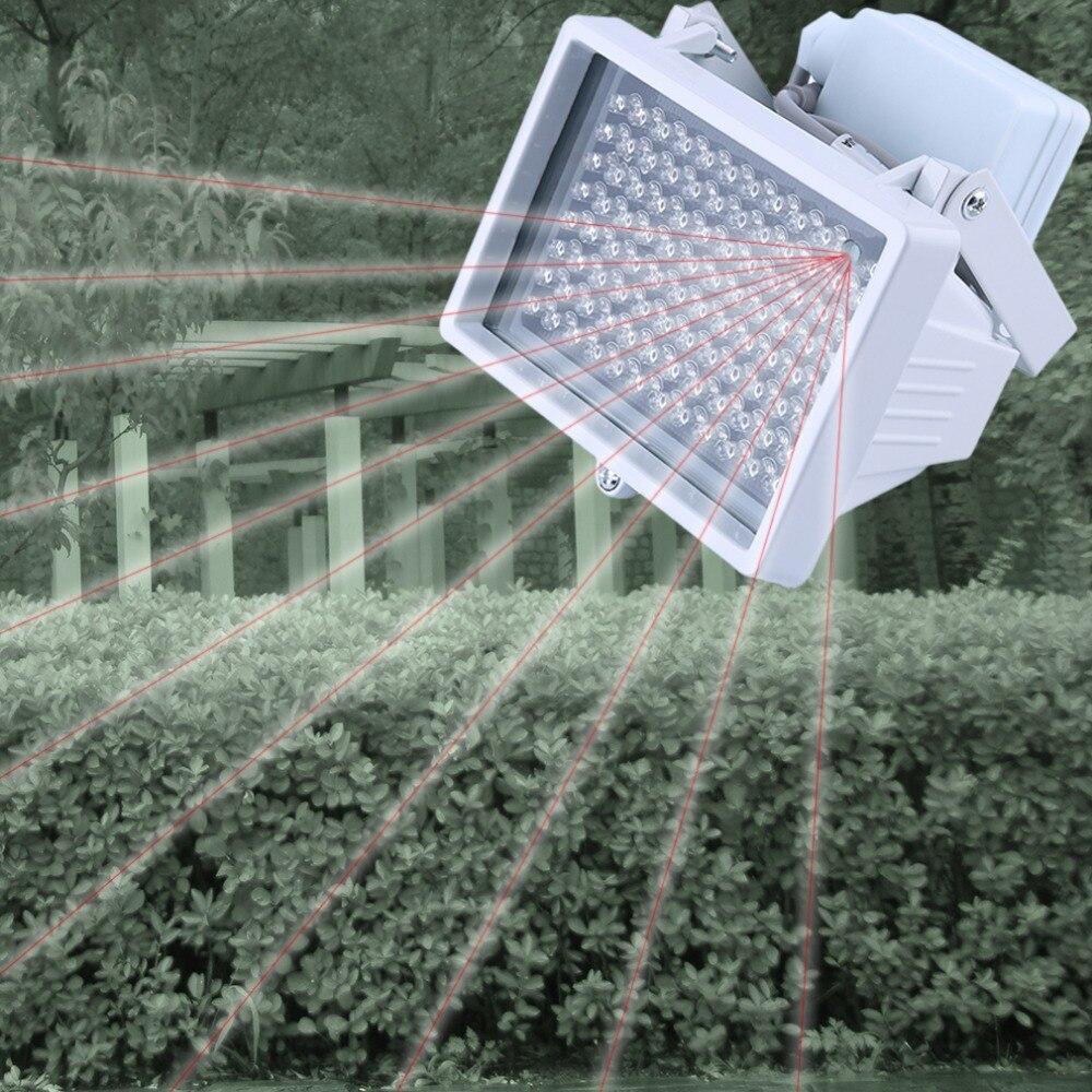 CTV LEDS CCTV 96PCS CCTV IR LEDS de Visão Noturna Luz de Preenchimento 850nm iluminador infravermelho lâmpada IP66 À Prova D Água para CCTV câmera