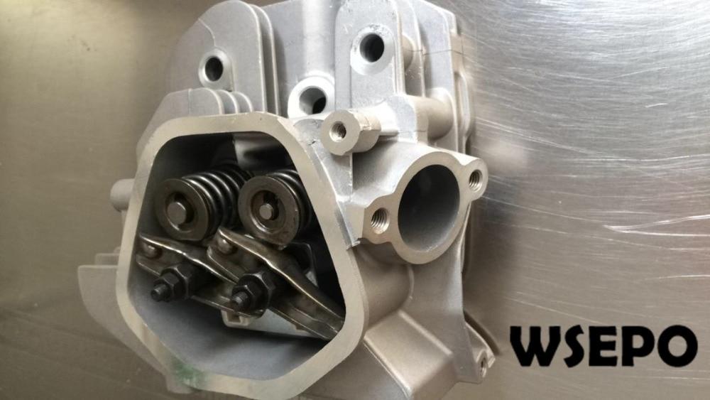 تشونغتشينغ الجودة! الاسطوانة آسى (مع الروك/صمام/الربيع) يناسب 190F/GX420 420CC 15 ~ 16HP 4 السكتة الدماغية اسطوانة واحدة محرك الغاز