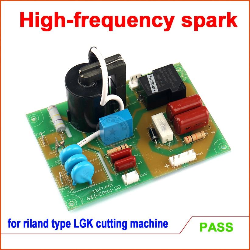 Placa de Alta Frequência do Pwb da Máquina de Corte do Plasma para o tipo Lgk-100ij do Arco de Riland Lgk-60g – Lgk80