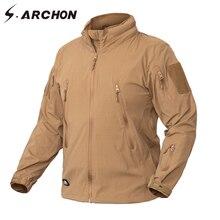 Ropa de S.ARCHON, nueva chaqueta de otoño, abrigo para hombre, ropa militar, Ejército táctico EEUU, prendas de vestir ligeras de nailon transpirables, cortavientos