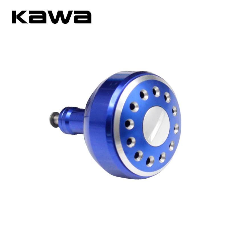 Kawa manivela para roda giratória, acessório para pesca em metal