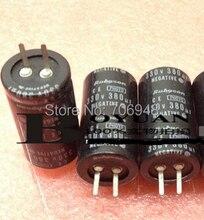 LOW ESR 330v 380uf photo flash capacitor 22*40mm