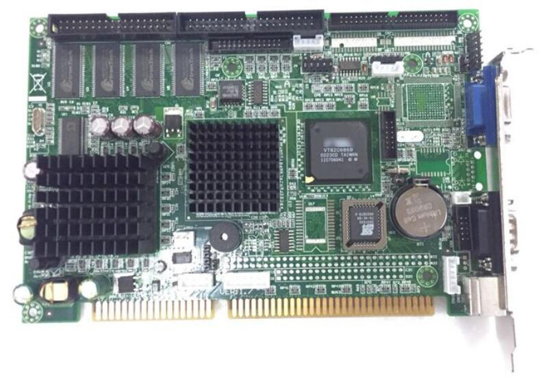 FB-2501 placa base Industrial IPC ISA 486 FB2501 tarjeta CPU de tamaño medio PICMG1.0 PC/104 CPU RAM integrada para CNC EDM