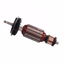Замена ротора арматуры 220В/240В переменного тока для BOSCH GWS6 GWS 6 GWS 6-100 GWS6-100 GWS 6-115 GWS6-115 Запчасти для углового шлифовального станка