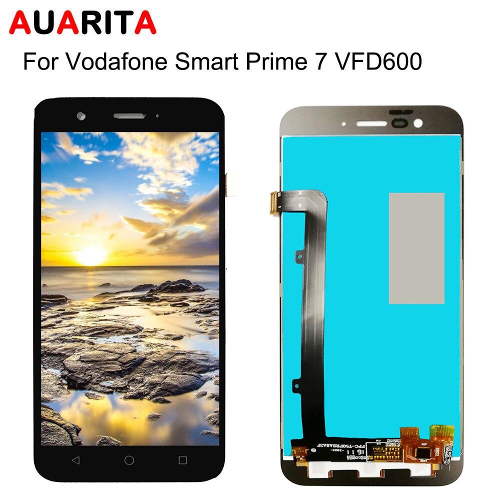 1 Uds negro completo pantalla LCD con panel táctil Montaje del digitalizador de pantalla Vodafone Smart Prime 7 VFD600 vf600 VF 600 de reemplazo