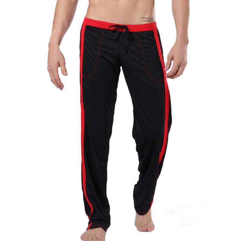 Pajamas men lounge wear home clothes sleepwear underwear loose home pants men's trousers thermal lou